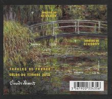 France 2010 Bloc Feuillet N° F4479 Neuf Luxe.jardins De France, Salon Du Timbre à La Faciale - Sheetlets