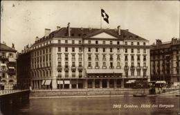 Cp Genève Genf Stadt, Hôtel Des Bergues - GE Genf