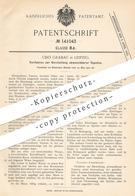 Original Patent - Udo Grabau , Leipzig , 1902 , Abwaschbare Tapeten   Tapete   Walzen , Öldruck , Papier   Maler !!! - Documenti Storici
