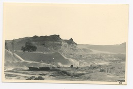 D554 Photo Originale Amateur Egypte Colline Au Sud Des Pyramides De Gizeh - Photos
