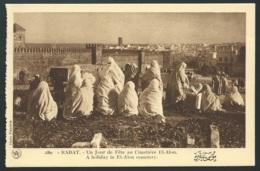 Rabat - Un Jour De Fête Au Cimetière El - Alon  -    Gab03 - Rabat