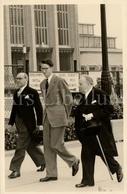 Postcard / ROYALTY / Belgique / België / Roi Baudouin / Koning Boudewijn / Foire Internationale / Heysel / 5 Mai 1953 - Beroemde Personen