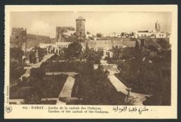 Rabat  -  Jardin De La Casbah Des Oudayas  -    Gab16 - Rabat