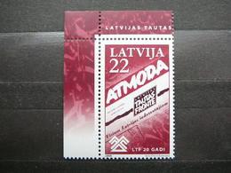"Latvian ""Tautas Frontei"" # Latvia Lettland Lettonie # 2008 MNH #Mi. 742 - Lettonie"
