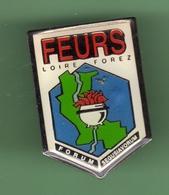 LOIRE FOREZ *** FLEURS *** 0097 - Badges