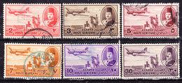 Egitto 1947--Posta Aerea-Valori Vari Usati - Egitto