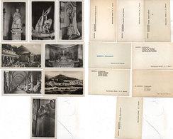 8 Photos Miniatures De GENOVA (Italie) GENE -  Riproduzione Vietata F.A.P. Genova    (110588) - Lieux