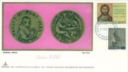 VATICANO -21.6.1970 COMM S.S. PAOLO VI MEDAGLIA UFF ANNO VIII - Papi