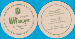 Bitburger Braugruppe Bitburg ( Anderes Druckerzeichen M )  ( Bd 2143 ) - Bierdeckel