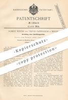Original Patent - Robert Winter , Viktor Pappenheim , Berlin 1902 , Gemisch Für Zahnfüllung   Zahnarzt , Zähne   Amalgan - Documenti Storici