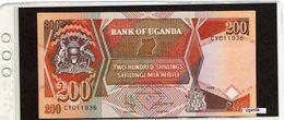 Banconota Uganda 200 Shilingi Miambili - Ouganda