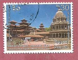 NEPAL USATO - 2013 - UNESCO World Heritage - Patan Durbar Square Monument Zone - 30 Rs - Michel NP ---- - Nepal