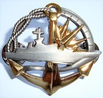 INSIGNE SURFACIER NIVEAU SUPERIEUR Marine Nationale - Marine
