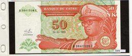 Banconota Zaire 50 Makuta - Zaïre