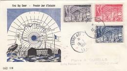 TAAF. FDC. TERRE ADELIE. 15 JANVIER 1958. ANNEE GEOPHYSIQUE INTERNATIONALE / 465 - FDC