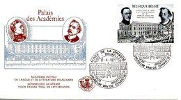 BELGIQUE. N°1576 De 1971 Sur Enveloppe 1er Jour. Académie Royale De Langue Française. - Langues