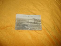 CARTE POSTALE PHOTO ANCIENNE CIRCULEE DATE ?. / RAYAK.- VUE GENERALE DU PARC ET EGLISE DE HAUCHE HALLA - Liban