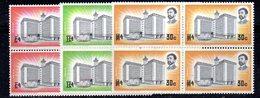 ETP14 - ETIOPIA 1965 , Yvert Serie In Quartina Yvert N 461/463  ***  MNH - Etiopia