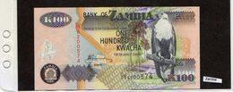 Banconota Zambia 100 Kwacha - Zambia