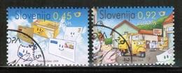 CEPT 2008 SI MI 682-83 SLOVENIA USED - 2008
