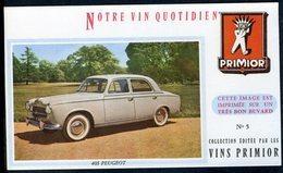 BUVARD VIN PRIMIOR N° 5 - Automobile - 403 PEUGEOT - Automobile