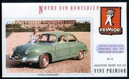 BUVARD VIN PRIMIOR N° 6 - Automobile - DYNA PANHARD - Automobile