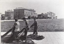 Zadar - Ribari , Fishermen , Pescatori 1963 - Bulgaria
