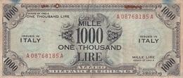 Billet 1000 Lire 1943 - Allied Occupation WWII