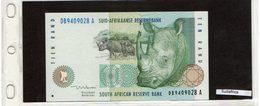 Banconota Sudafrica  10 Rand - Afrique Du Sud