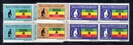 ETP19 - ETIOPIA 1967 , Yvert Serie In Quartina Yvert N 490/492  ***  MNH MICROBIOLOGIA - Ethiopia
