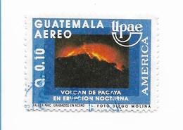 GUATEMALA 1991, UPAEP, PACAYA VOLCAN, MOUNTAIN, 1 VALUE USED  MICHEL 1321 C841 - Guatemala