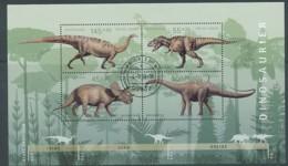 GERMANY Mi. Nr. Block 73 Jugend - Dinosaurier - ET Weiden - Used - BRD