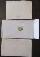 Egypte - 3 Enveloppes Dont 2 Entiers Postaux Non-circulés (vers 1900) + Une Enveloppe Timbrée (bande) Vers France 1931 - Égypte