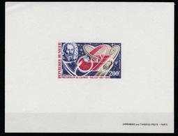 Niger PA125 Epreuve De Luxe. 1970 Deluxe Proof. Galileo, Space. Galilée, Espace. - Space