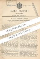 Original Patent - Dr. Julius Ephraim , Berlin 1903 , Pulver Für Gewehre & Geschütz   Schießpulver , Waffen , Sprengstoff - Documenti Storici