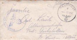 German Feldpost WW2: From Wjasma, Russia - Stab III Infanterie-Regiment 35 FP 06290F P/m  17.9.1941 - Letter Inside - Militaria