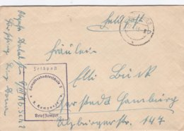 German Feldpost WW2: Kampfbeobachterschule 2 (9. Kompanie) P/m Hörsching 27.4.1943 - Cover Only (DD24-51) - Militaria