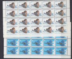 AAT 1979 50th Ann. First Flight Over Southpole 2v  20x ** Mnh (41484) - Territoire Antarctique Australien (AAT)