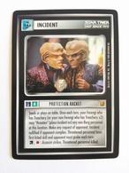 Star Trek CCG - Incident - Protection Racket (Rar) - Star Trek