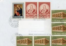 °°° Busta Viaggiata Con Francobolli Vari °°° - Lettres & Documents