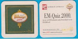 Bitburger Braugruppe Bitburg (EM  Quiz 2000 )  ( Bd 2152 ) - Sous-bocks