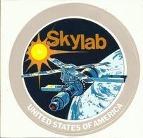 Autocollant SKYLAB - ESPACE - Stickers