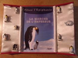 Fèves / Animaux : Coffret La Marche De L'empereur 2007 - Animals