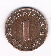 1 PFENNIG 1938 A DUITSLAND /8531/ - [ 4] 1933-1945 : Troisième Reich