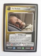 Star Trek CCG - Paul Manheim (Personnel Non-Aligned/Rar) - Star Trek