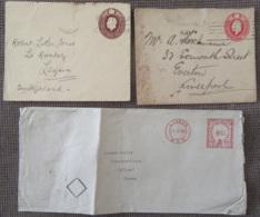 Grande-Bretagne - 20 Enveloppes Dont Entiers Postaux, EMA, Timbres, Etc... - 1881 Environ à 1954 - à étudier - Grande-Bretagne
