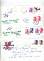 Lot 24 Lettre Cachet Gard  à Voir - Marcophilie (Lettres)
