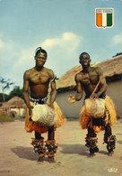COTE D' IVOIRE  -  Danseurs Baoulés - Ivory Coast