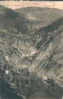 USSON - Les - BAINS  ( 09 )  Vue  Aérienne De La Vallée Et De L' Etablissement . - Autres Communes