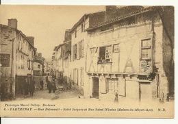 79 - PARTHENAY / RUE DELAVAULT - SAINT JACQUES ET RUE SAINT NICOLAS - Parthenay